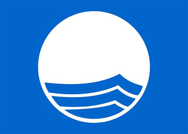 Blaue Flagge