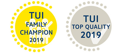 TUI Top Quality & Family Champion Awards 2019