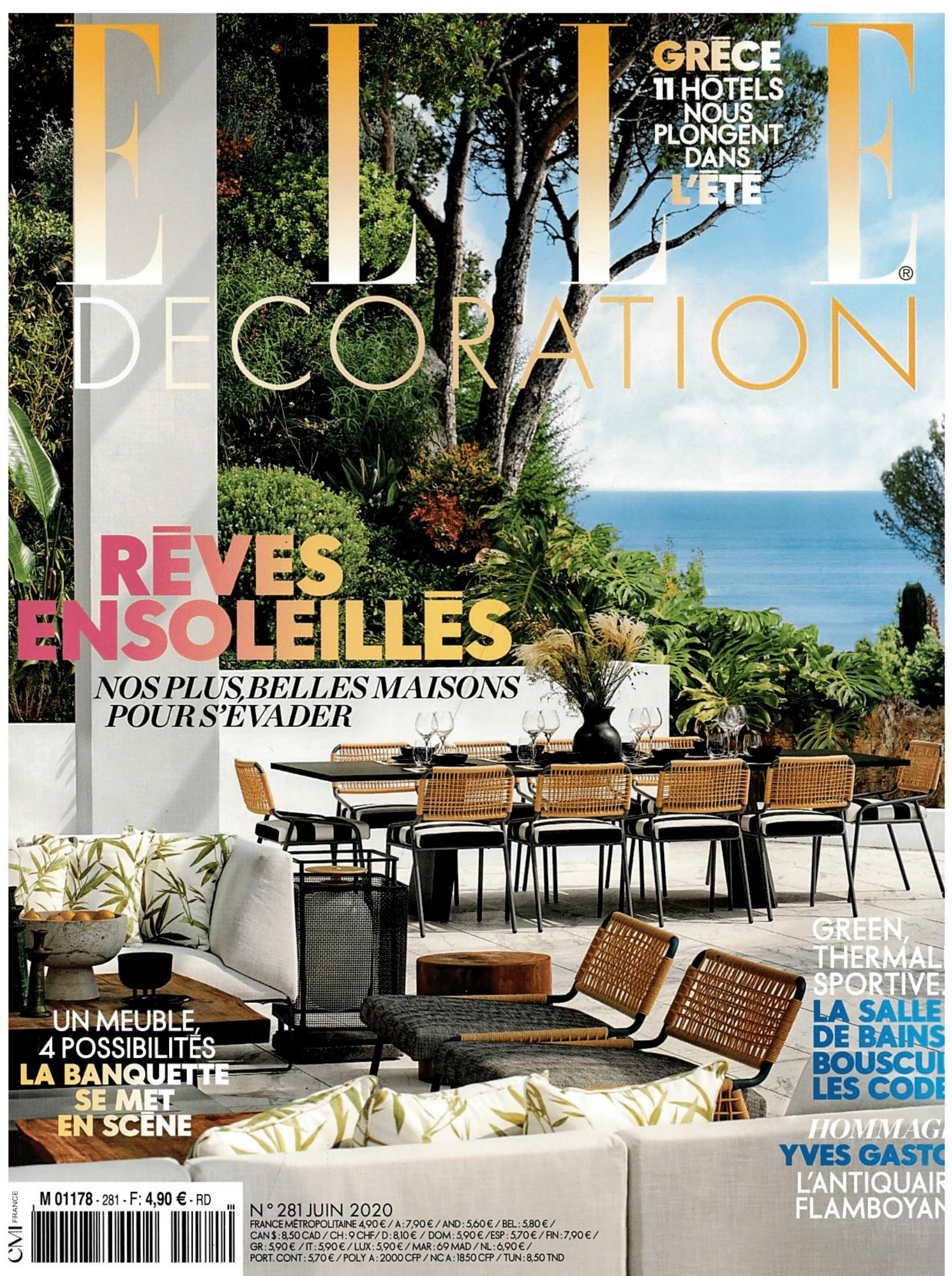 French Elle Decoration magazine