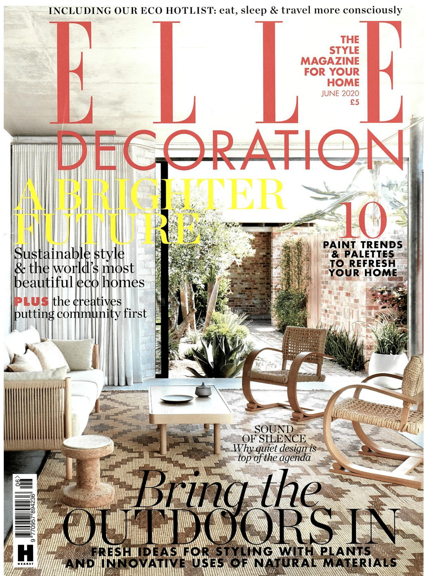 Elle Decoration Magazine June 2020 Cover 1